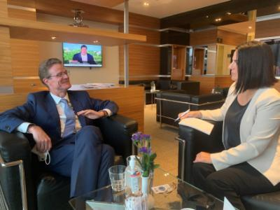 eu-not-in-favor-of-a-two-state-solution-in-cyprus,-eu-ambassador-to-turkey-tells-cna